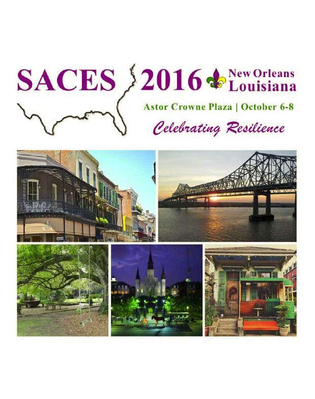 SACES 2016 Conference Program